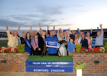 Bubbly Lucky wins at Romford