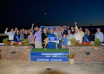 Bubbly Rocket wins at Romford