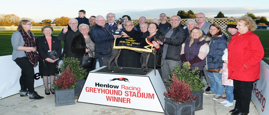 Bubbly Turbo wins the Henlow Derby
